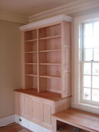 improvements builder james storage bookcases home improvement sexton georgetown bookcase desks custom