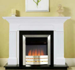 Fireplace Surround - Fluted with Shadow Box
