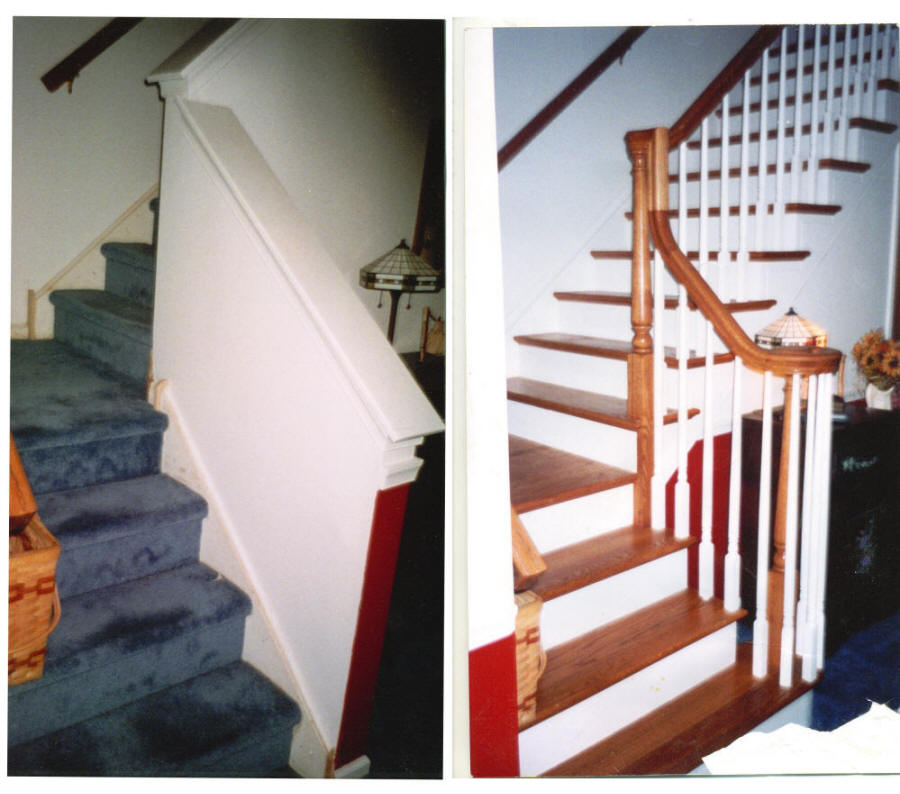 Wooden Stair Replacement