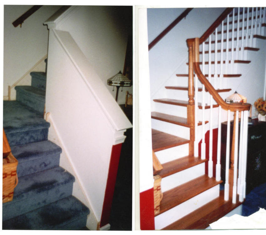 Custom Stair Renovations